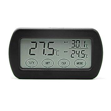 fiveschoice - Termómetro Digital LCD con Higrómetro y medidor de Humedad para Oficina en casa