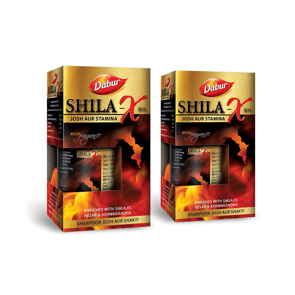Shila - X Oil - 20 ml (Musk Fragrance) (Pack of 2)