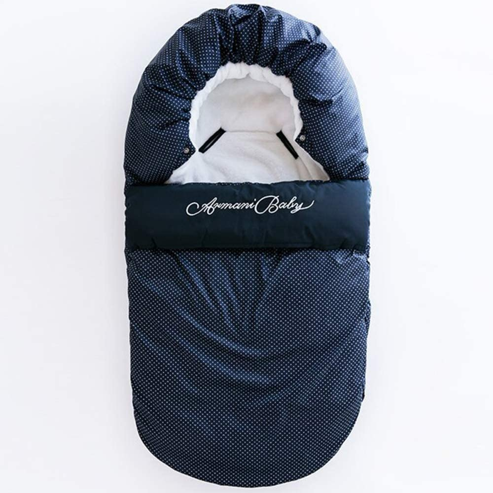 Universeller Fußsack Für Kinderwagen Winterfußsack Fußsack Mit Warmes Und Weiches Fleece Fußsack Für Sportwagen Buggy Blueb 80 48cm Küche Haushalt