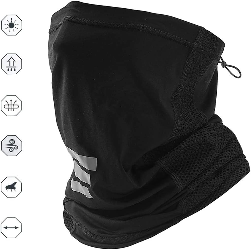 PORPOR BOOYA Summer UV Protection Face Dust Face Mask,Anti Air Pollution Smoke Face Scarf Dust Mask Reusable Face Scarf Mask for Sport,Outdoor,Fishing,Cycling