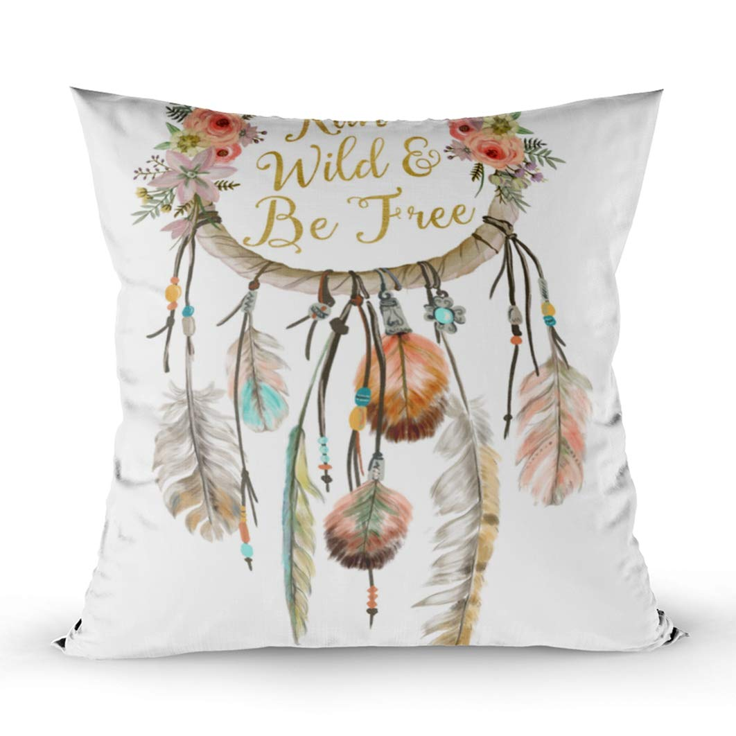 Emmteey Home Decor Throw Pillowcase For Sofa Cushion Cover Fall Autumn Leaves Accent Decorative Square Accent Zippered And Double Sided Printing Pillow Case Covers 18x18inch Set Of 2 Home Kitchen Decorative Pillows Inserts