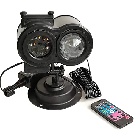 Lámpara Del Proyector, Al Aire Libre De LED De Nieve Paisaje ...