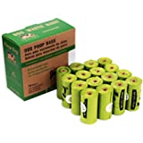Poop Bags Biodegradable, 16 Rolls/240 Bags, Dog Waste Bags, Unscented, Leak-Proof, Easy Tear- Off
