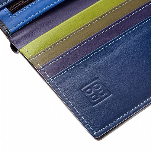 folding Collection Woods wallet leather colour model multi Man's Tiberio DUDU ~ with Colorful zip by ARqwtP