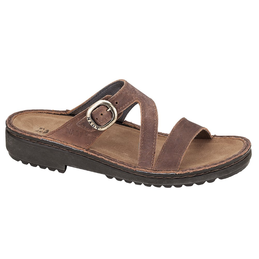 NAOT Geneva Scandinavian Women Sandals B01MG2LFCA 39 M EU|Brown Haze Leather