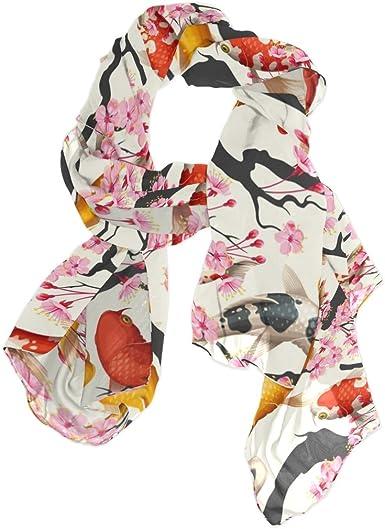 Soft Chiffon Star Fish Print Scarf Sea Summer Inspired Wrap Long Accessories