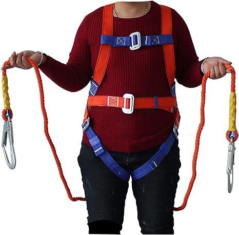 WGE Kit de protección contra caídas para arnés de Seguridad ...