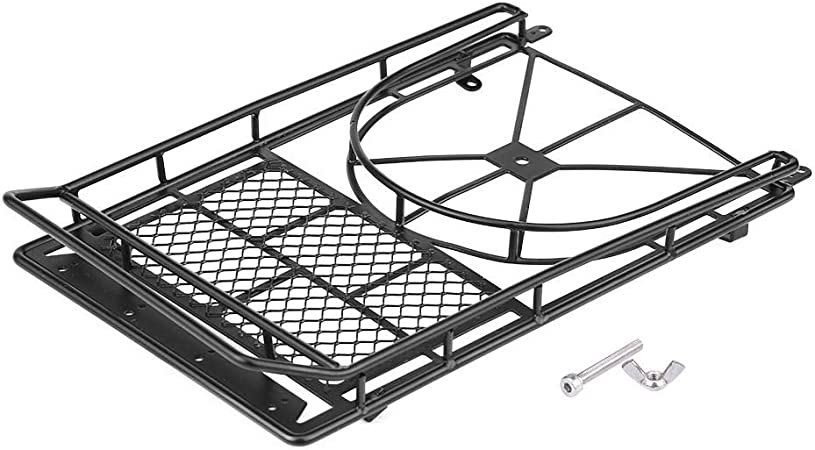 Baca Portaequipajes Techo de Metal Universal para RC 1:10 Coches Modelo