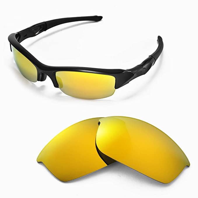 Sunglasses Restorer Lentes de Recambio Polarizadas Fire Iridium for Oakley Flak Jacket: Amazon.es: Ropa y accesorios
