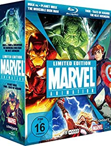 Marvel Limited Blu-ray Edition Hulk vs.Thor & Wolverine, The ...