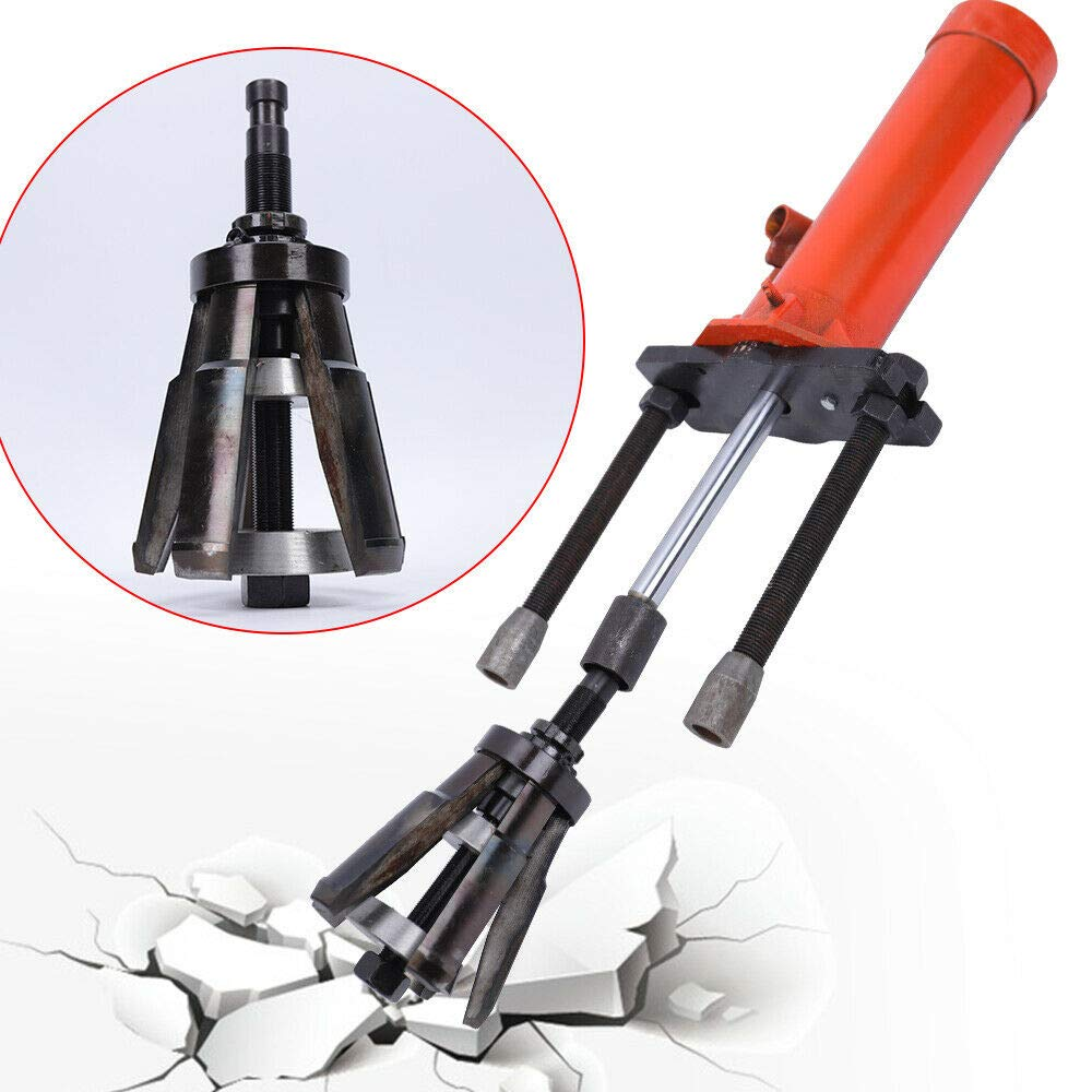 RanBB Liner Puller 15T Universal Hydraulic Cylinder Puller Tool Dry-Type and Wet-Type for Hubs Fit Diameter of 80mm-140 mm