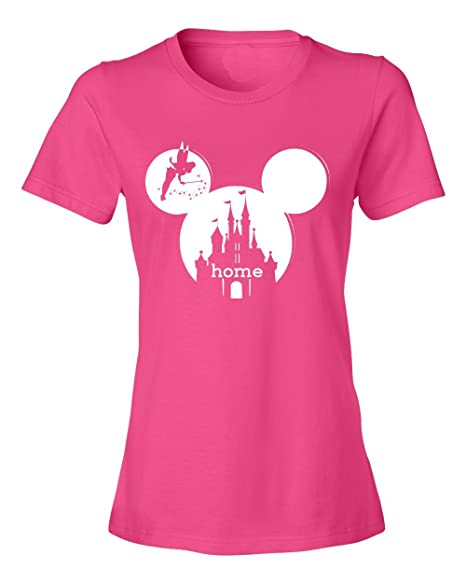 0fb59123413c Personalized Mickey Mouse Disney is My Home Castle Tee (Small, Awesome)