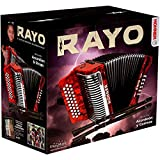 NEW Hohner RAYO Accordion GCF Sol 31 Button Acordeón Diatónico Ray-O