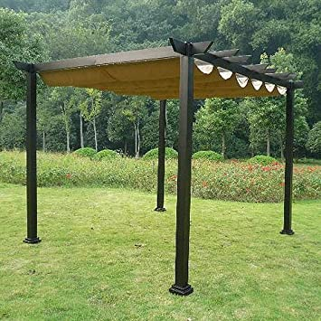 10 x 12 Pergola Replacement Canopy & Amazon.com : 10 x 12 Pergola Replacement Canopy : Gazebos : Garden ...