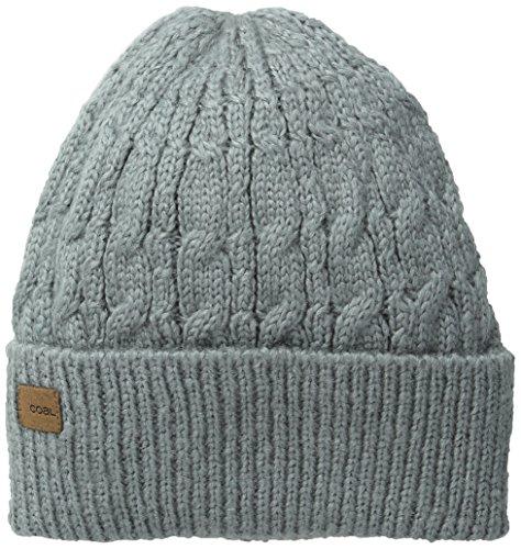 Coal Headwear-Gorro Longview The Coal corto para hombre y mujer, color Gris gris
