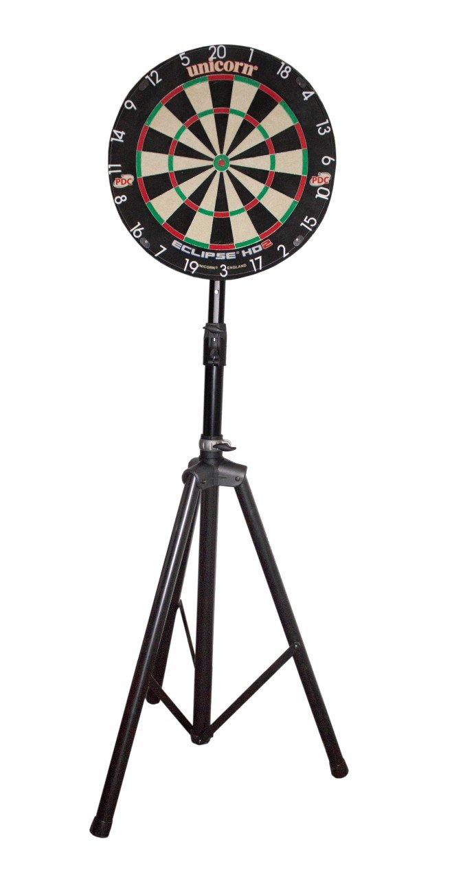 Dartboard Travel Stand/mobiler Dartboardständer Millenium Royal Darts