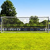 Cheap Net World Sports Soccer Goal Targets. Pro Soccer Target Sheets. Great for Soccer Practice. Select Your Size! (09. 24′ x 8′)