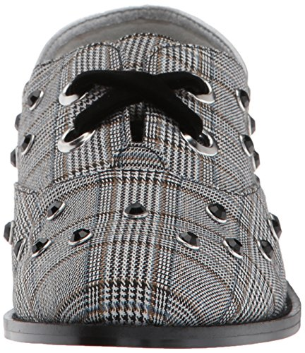 Grey Flat Women's Hankie London Shellys Oxford Plaid RX6xf