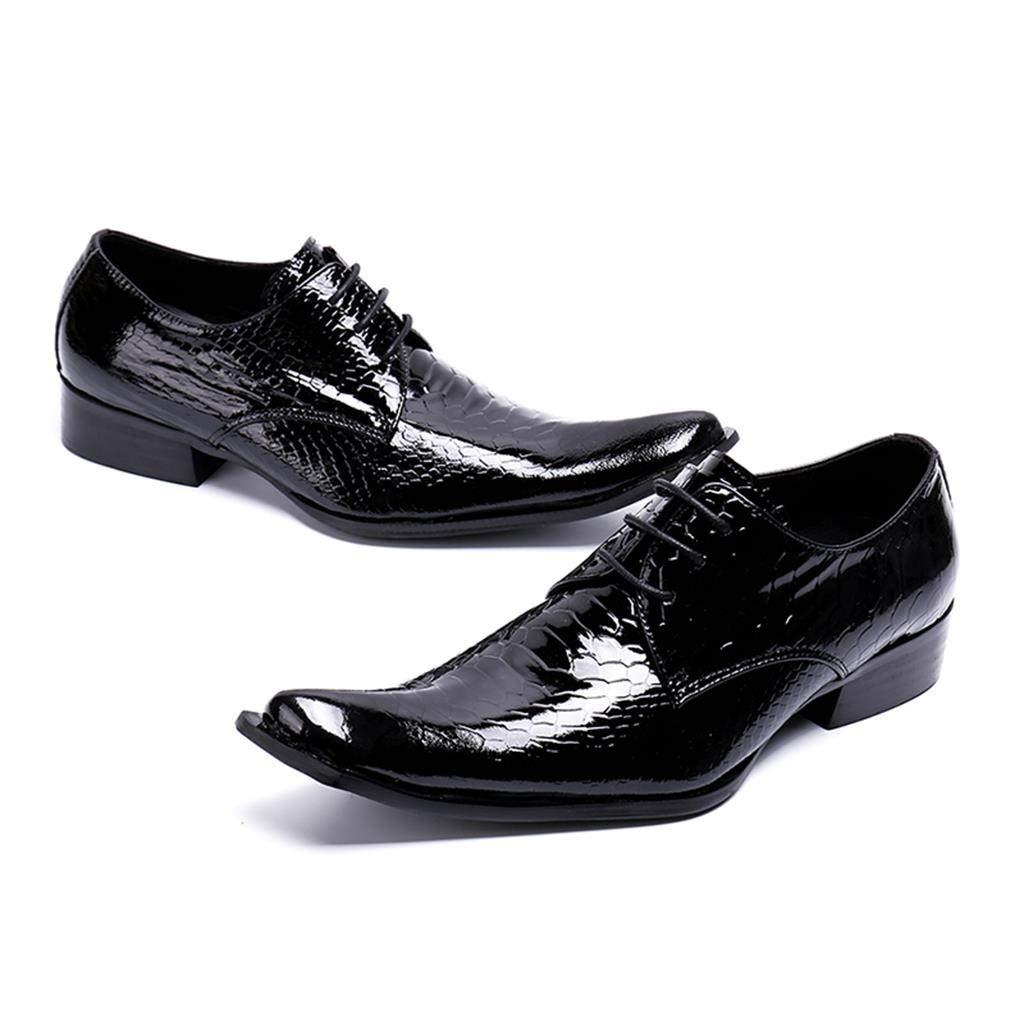 Spitzen Spitze Männer Schuhe Mode Friseur Outdoor Casual Schuhe KTV Bar Schuhe