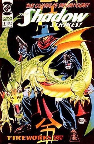 (Shadow Strikes!, The #8 VF/NM ; DC comic book)