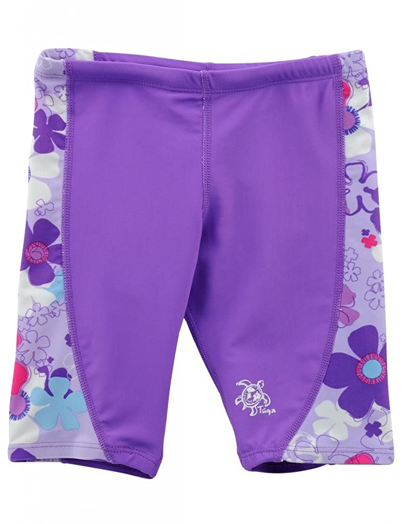 c488614baa8 Amazon.com: Tuga Girls Swim Jammer Short 2-14 Years, UPF 50+ Sun Protection  Board Short: Clothing
