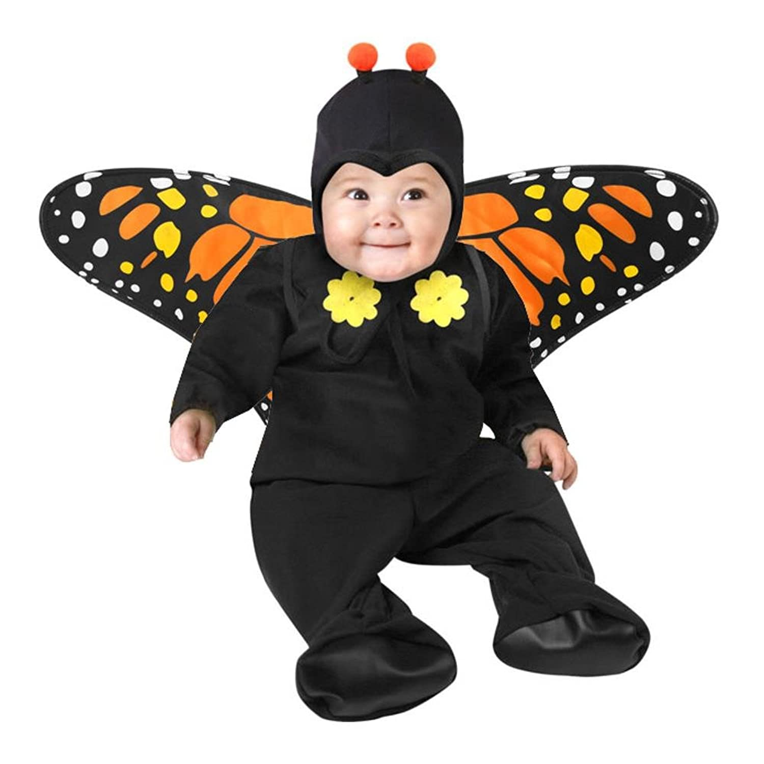 Amazon.com: Child\'s Infant Toddler Butterfly Halloween Costume (18 ...