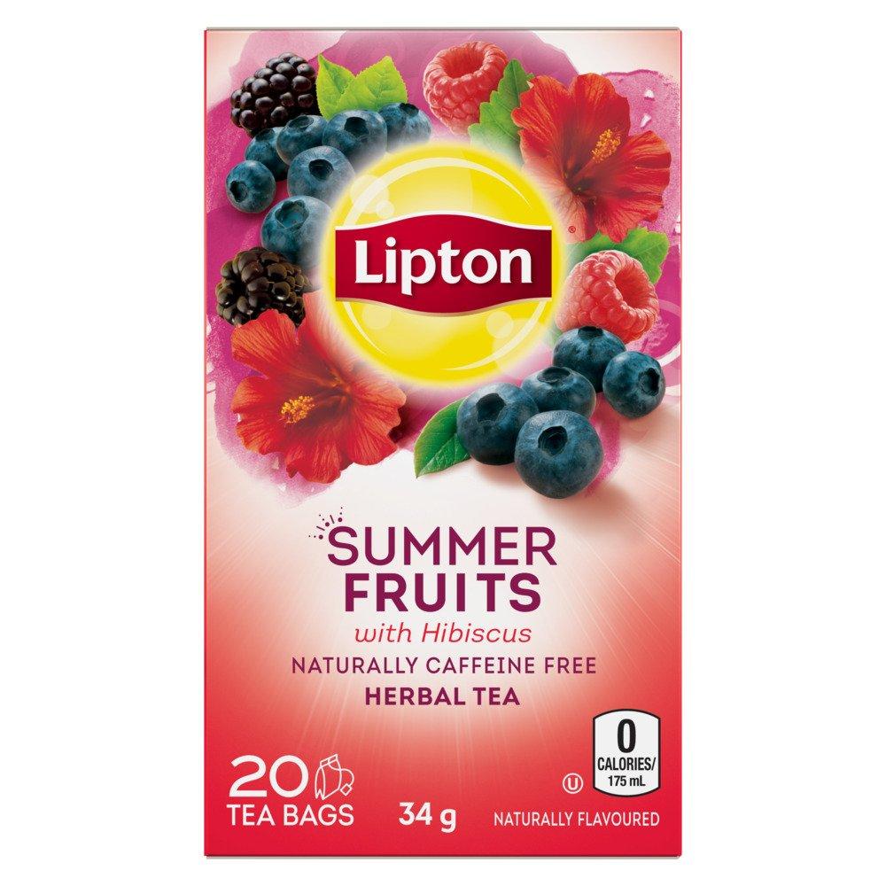 Lipton® Summer Fruits Herbal Tea Bags 20 ct by Lipton (Image #1)