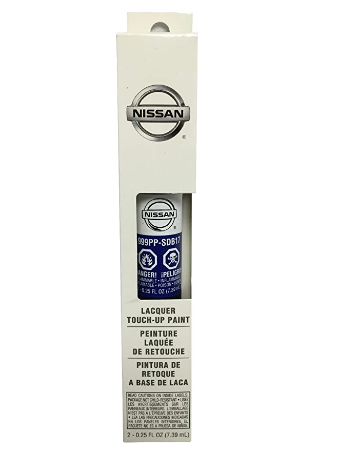 Amazon.com: Nissan Touch up Paint .5oz 3-in-1 Applicator (B17 Metallic Blue): Automotive