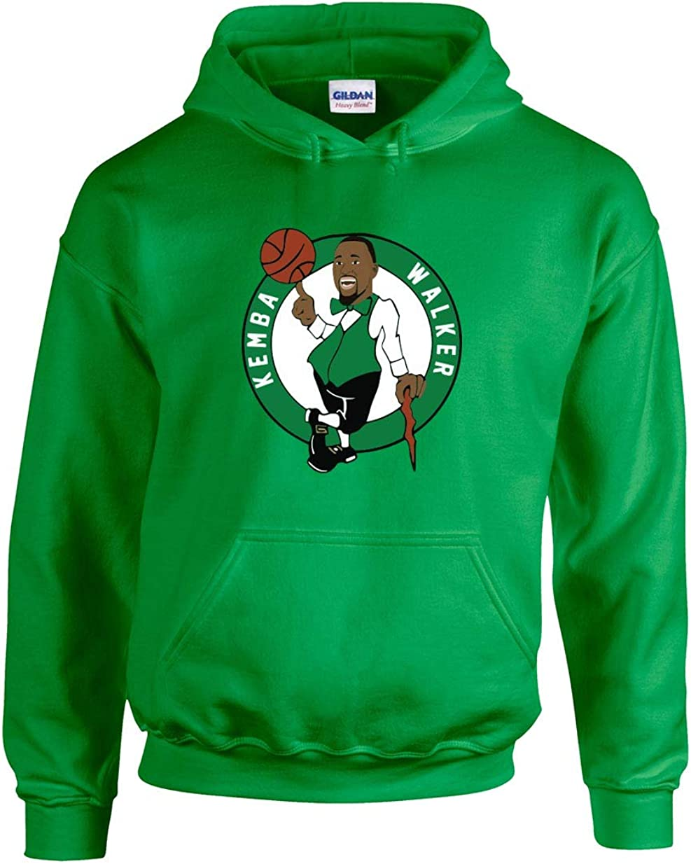Green Boston Kemba Logo Hooded Sweatshirt