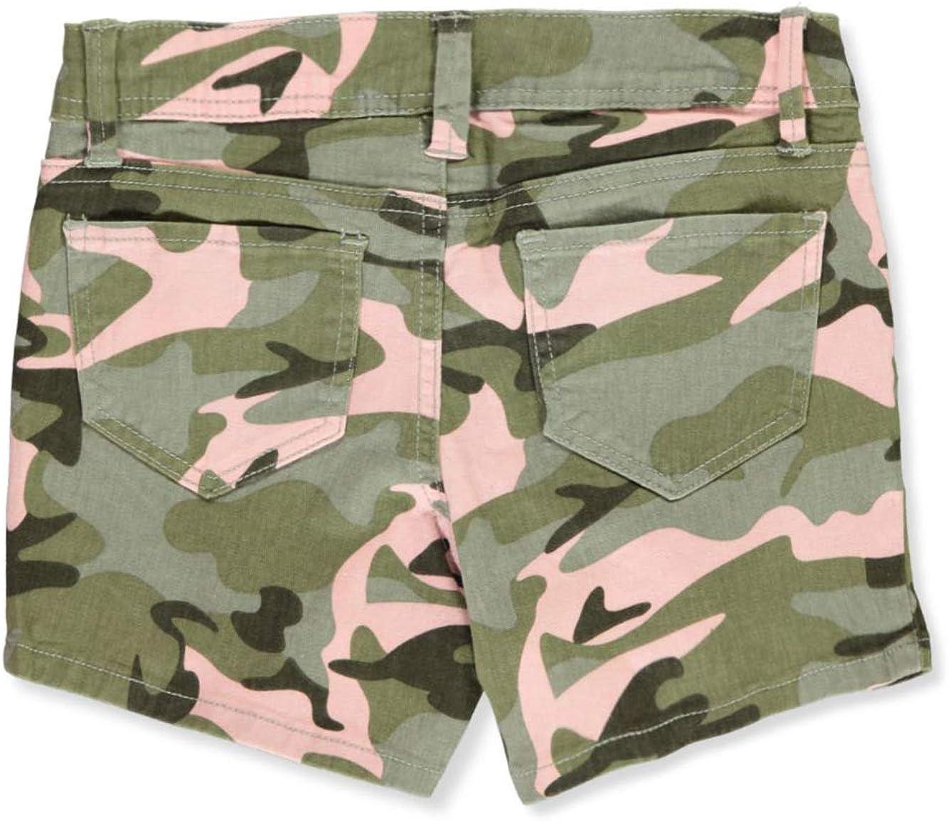 YMI Girls Pink Camo Shorts
