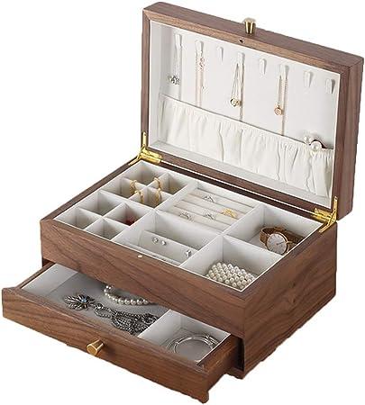 Cajas para joyas Caja de almacenamiento de joyería Caja de joyería Organizador de caja de joyería Bolsa de viaje for niñas Organizador de almacenamiento elegante Joyería for cajas Organizador de almac: Amazon.es: