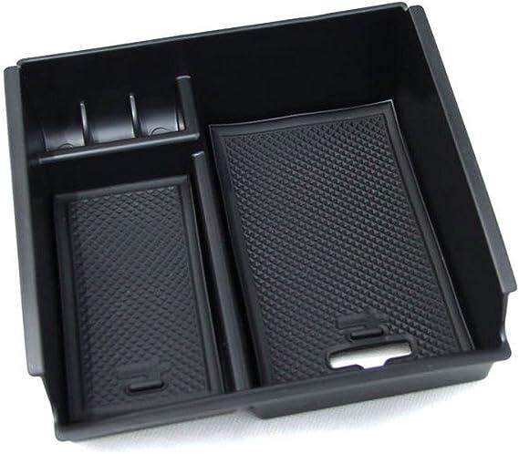 Interior Armrest Storage Box Organizer Holder For Infiniti Q60 2017-2018