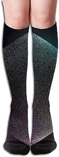 Aeykis Women High Keen Socks Boots Crew Art Graphic Socks Compression Long Athletics Stockings For Men Women