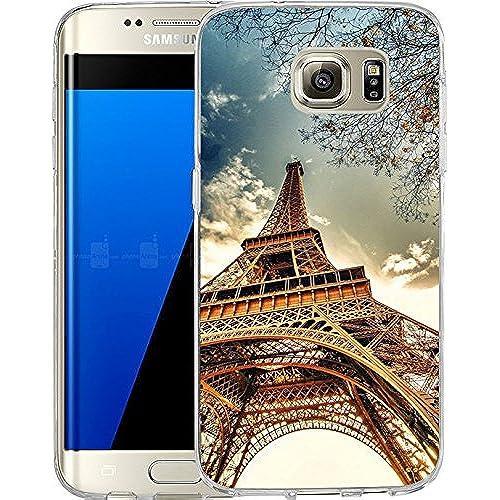 Galaxy S7 Edge Case Samsung Galaxy S7 Edge Case TPU Non-Slip High Definition Printing Paris rail Sales