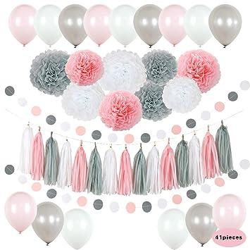 Amazon.com: ZENSII - Set de decoración para fiesta de ...