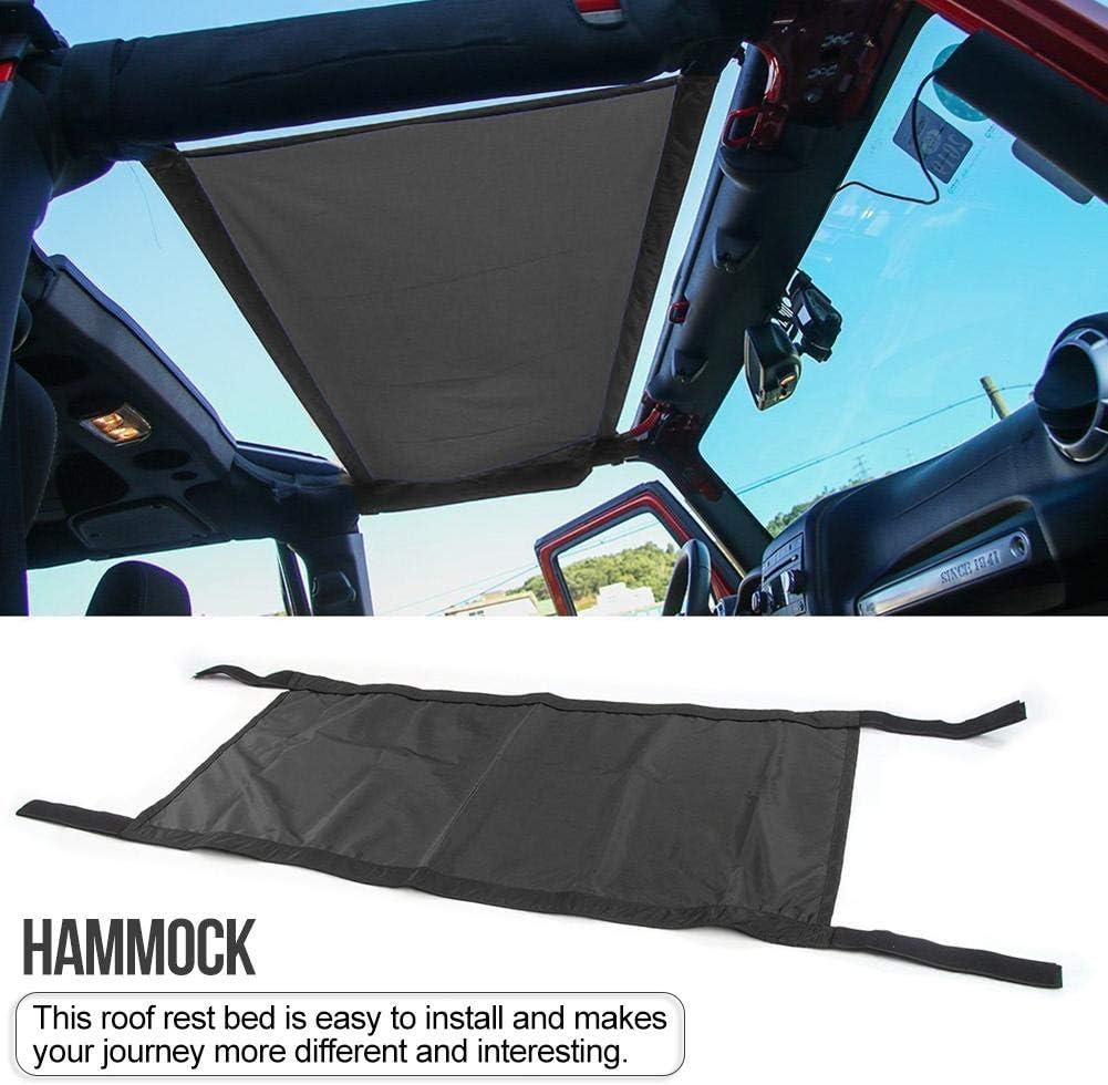 Yunt-11 Nouveau Style lit de Repos hamac Toit Noir Voiture pour Jeep Wrangler pour Jeep Wrangler