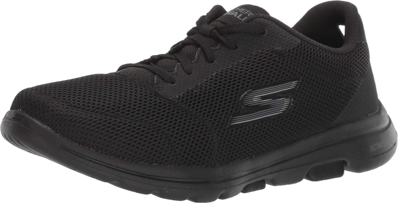 Skechers Go Walk 5-Lucky, Zapatillas para Mujer: Amazon.es: Zapatos y complementos