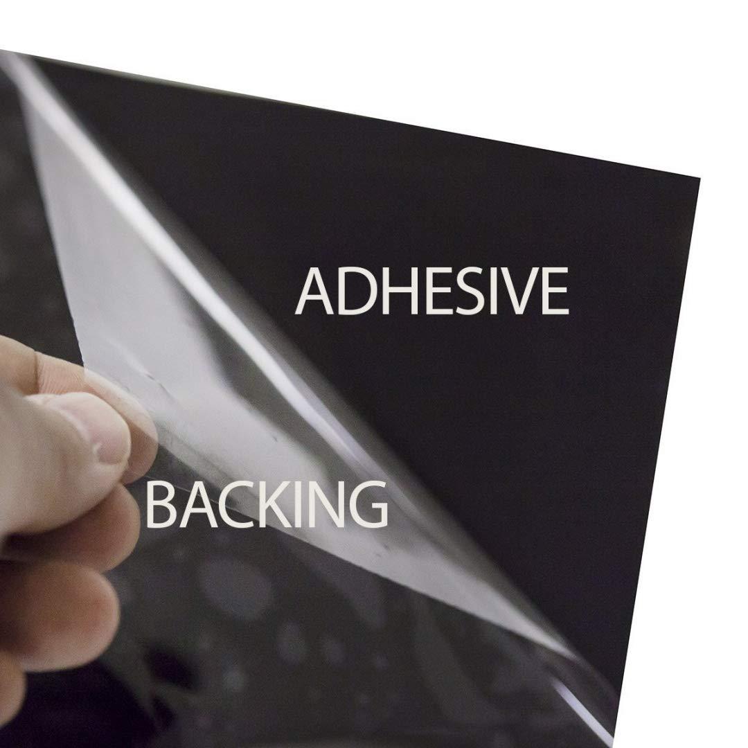 - 36in X 24ft BuydecorativefilmTM Dark Black BDF NA20 Window Film Privacy and Sun Control N20