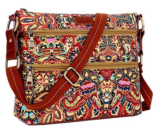 BAOSHA TB-04 Crossbody Purse Bag Shoulder Satchel Bag Women messenger Bag (colour) by Baosha