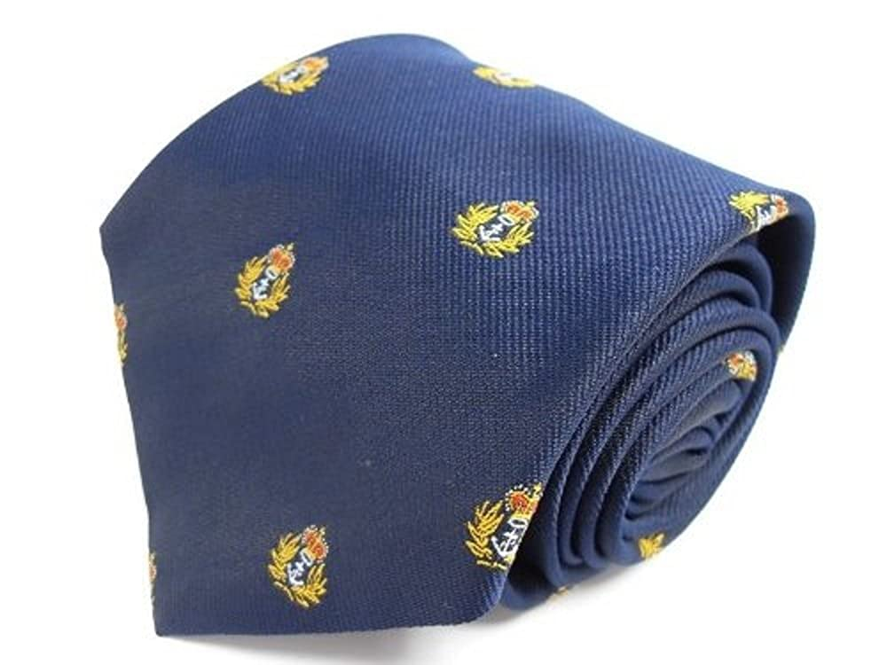 Ties Unlimited Royal Navy Cap Badge Regimental Tie: Amazon.es ...
