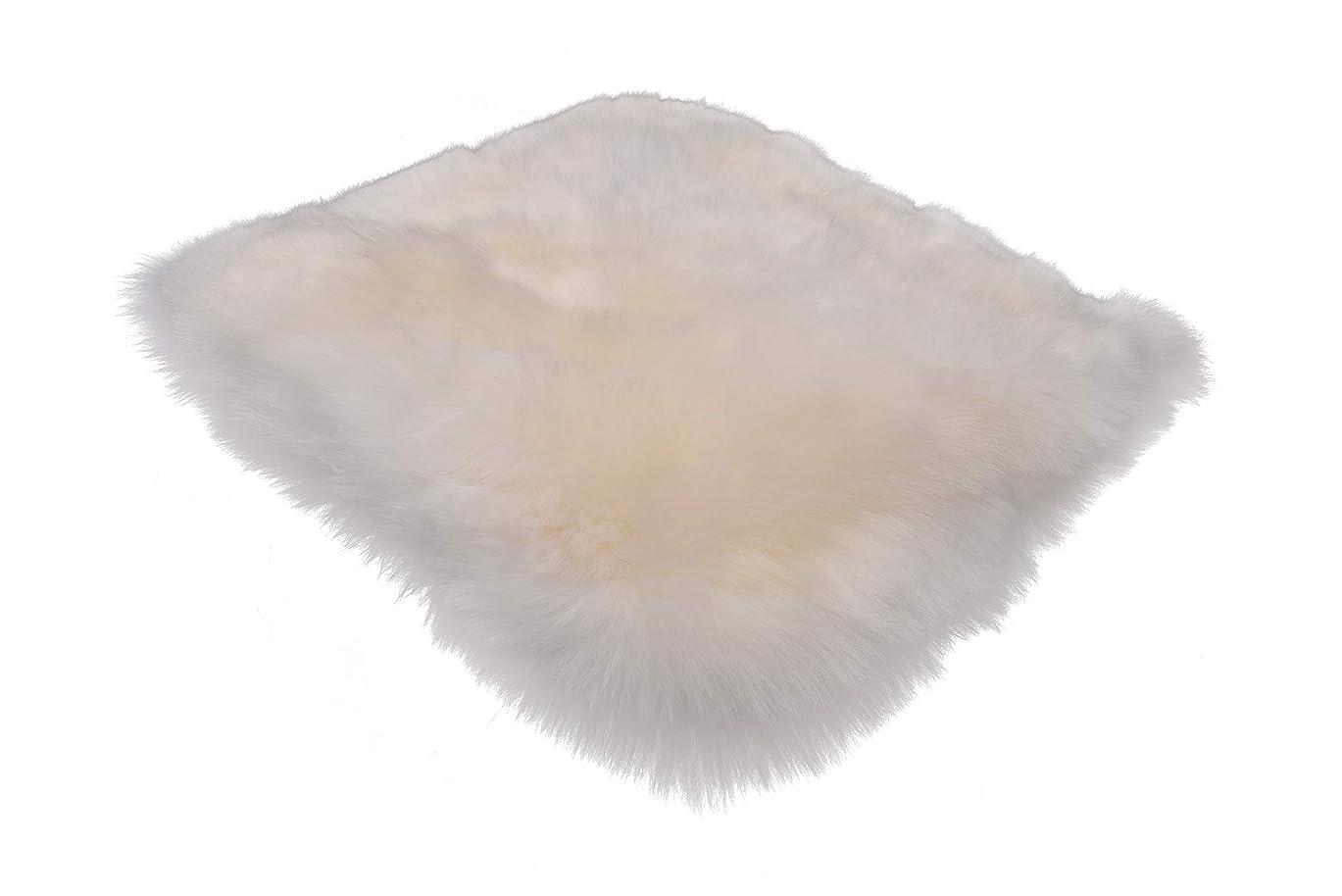 特権改善する主権者カタク(KATAKU)ムートンラグ シャギー マット ふわふわ 柔らかい 毛長約80mm 人工ウール 洗える 絨毯 滑り止め ソファー/椅子敷物 年中 床暖房対応 カーペット ラグマット(羊の姿、長方形、円形)