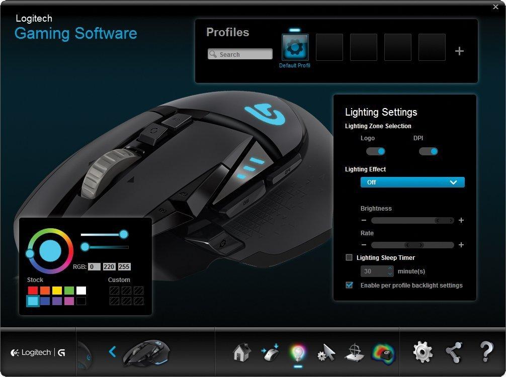 Amazon Com Logitech G502 Proteus Spectrum Rgb Tunable Gaming