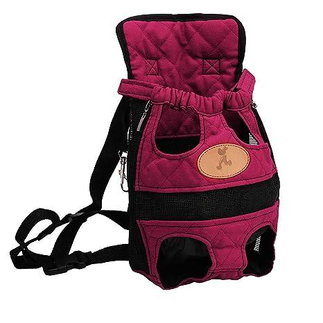 Hergon - Mochila Ajustable para Transportar Mascotas, Bolsa de ...