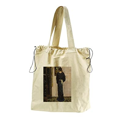 80%OFF The Earring (George Breitner) Canvas Drawstring Beach Tote Bag