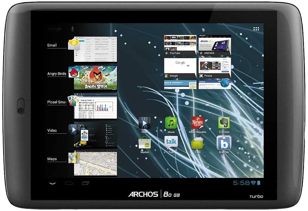 Archos A80 g9 - Tablet de 8 Pulgadas (Android 4.0, 8 GB, WiFi, 1.5 ...