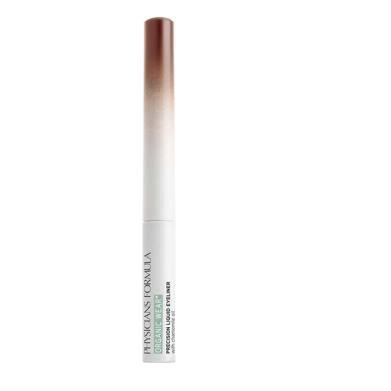 Physicians Formula Organic Wear Precision Liquid Eyeliner, Brown, 0.14 Fl Ounce