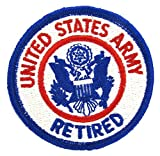 #10: United States Army Retired Patch - FULL COLOR