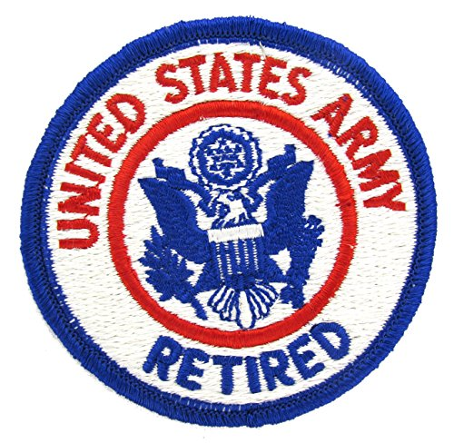 United States Army Retired Patch - FULL COLOR