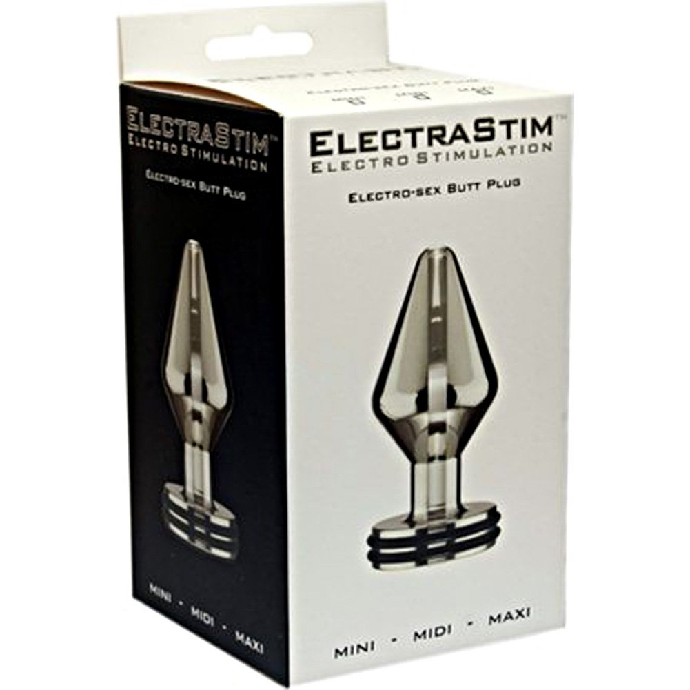 ElectraStim ''Max'' Electro Butt Plug - Large (85mm X 50mm)