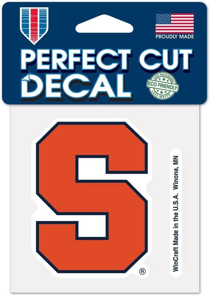 "WinCraft NCAA Syracuse University Perfect Cut Color Decal, 4"" x 4"""